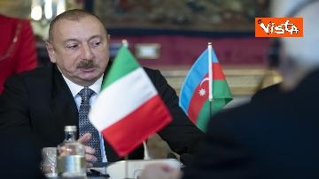 17 - Mattarella riceve il Presidente della Repubblica dell'Azerbaigian Ilham Aliyev, le immagini