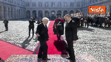 9 - Mattarella riceve il Presidente della Repubblica dell'Azerbaigian Ilham Aliyev, le immagini