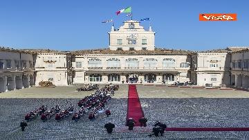 4 - Mattarella riceve il Presidente della Repubblica dell'Azerbaigian Ilham Aliyev, le immagini