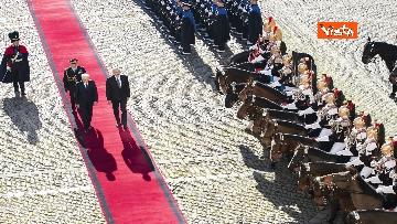6 - Mattarella riceve il Presidente della Repubblica dell'Azerbaigian Ilham Aliyev, le immagini