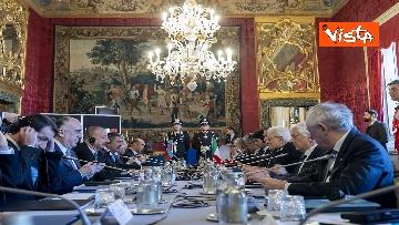 16 - Mattarella riceve il Presidente della Repubblica dell'Azerbaigian Ilham Aliyev, le immagini