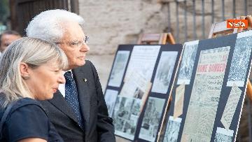 7 - Mattarella depone corona d'alloro a Porta San Paolo per anniversario difesa di Roma 8 settembre