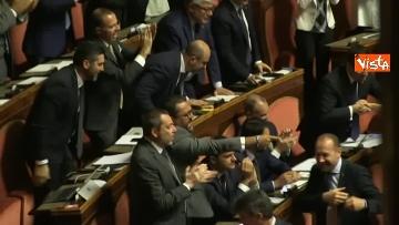 2 - 10-09-19 Tutte le bagarre al Senato il giorno della fiducia al Governo Conte