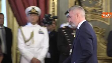 3 - Il giuramento del Ministro della Difesa Lorenzo Guerini