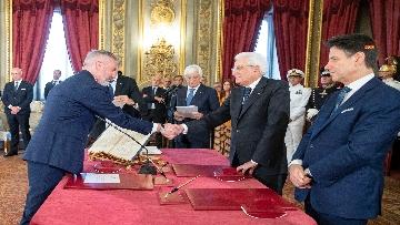 4 - Il giuramento del Ministro della Difesa Lorenzo Guerini