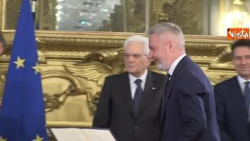 2 - Il giuramento del Ministro della Difesa Lorenzo Guerini