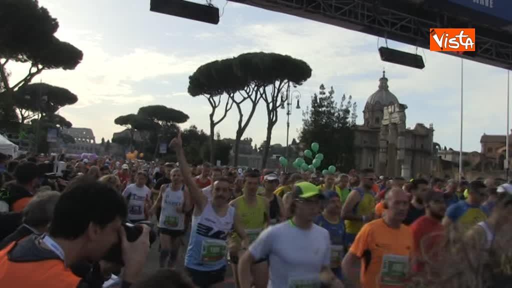 08-04-18 Al via la 24esima edizione della Maratona di Roma, le immagini_03