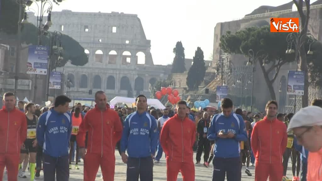 08-04-18 Al via la 24esima edizione della Maratona di Roma, le immagini_02