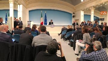 3 - Tav, Conte in conferenza stampa a Palazzo Chigi, immagini