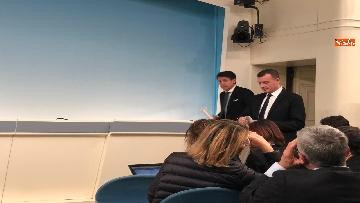 5 - Tav, Conte in conferenza stampa a Palazzo Chigi, immagini