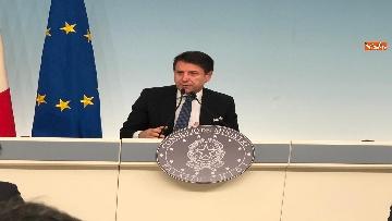 10 - Tav, Conte in conferenza stampa a Palazzo Chigi, immagini