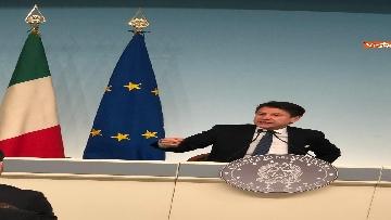 7 - Tav, Conte in conferenza stampa a Palazzo Chigi, immagini