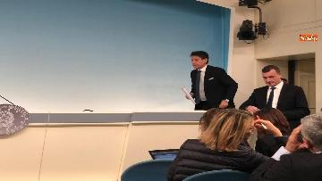 13 - Tav, Conte in conferenza stampa a Palazzo Chigi, immagini