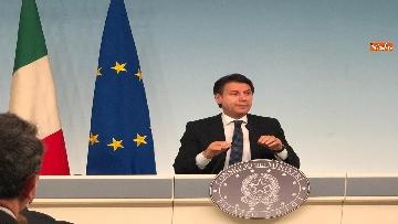 12 - Tav, Conte in conferenza stampa a Palazzo Chigi, immagini