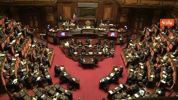 11 - Conte riferisce in Aula Senato su Consiglio Ue, immagini