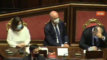 8 - Conte riferisce in Aula Senato su Consiglio Ue, immagini