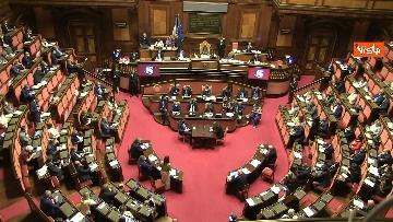 10 - Conte riferisce in Aula Senato su Consiglio Ue, immagini