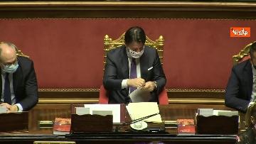 3 - Conte riferisce in Aula Senato su Consiglio Ue, immagini