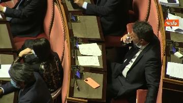 5 - Conte riferisce in Aula Senato su Consiglio Ue, immagini