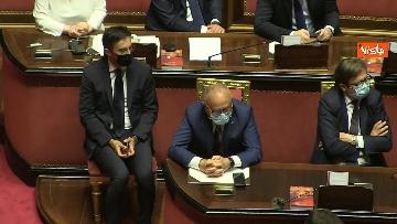7 - Conte riferisce in Aula Senato su Consiglio Ue, immagini