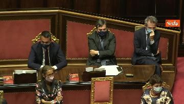 4 - Conte riferisce in Aula Senato su Consiglio Ue, immagini