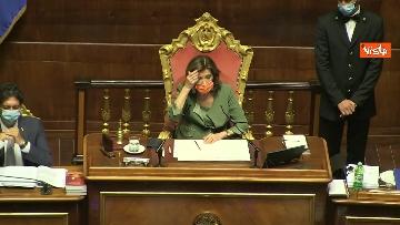 6 - Conte riferisce in Aula Senato su Consiglio Ue, immagini