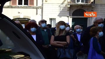 3 - Funerale Zavoli, le immagini del funerale nella chiesa di San Salvatore in Lauro a Roma