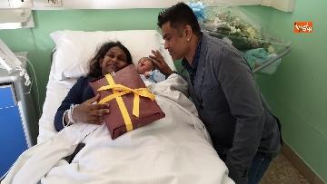 2 - Il primo nato a Roma da genitori dello Sri Lanka si chiama Italo