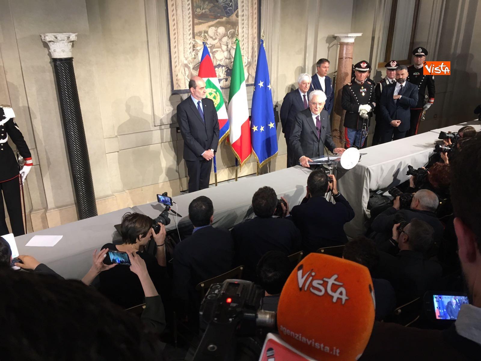 07-05-18 Mattarella il discorso al termine delle consultazioni immagini_16