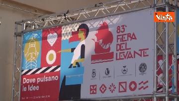 1 - Conte a inaugurazione della 83esima Fiera del Levante, le immagini