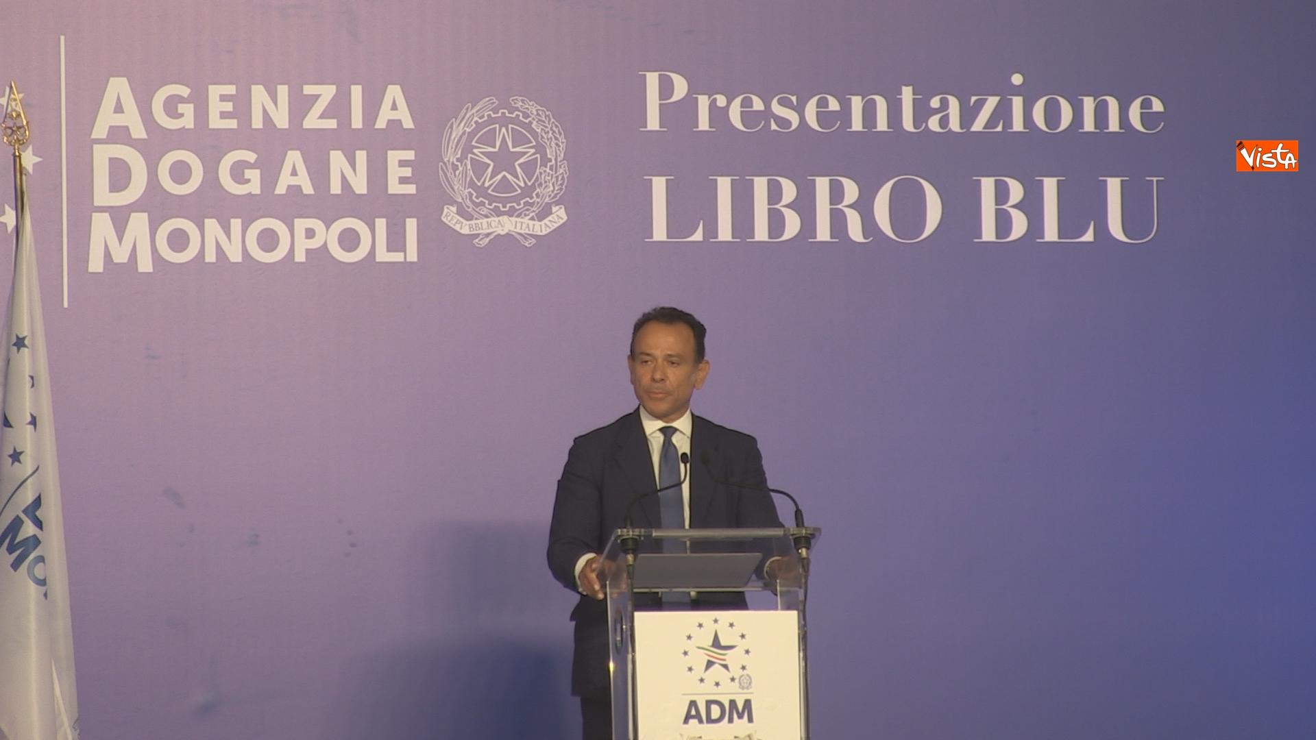 L'intervento del direttore dell'Agenzia Dogane e Monopoli Marcello Minenna