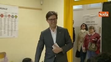 4 - Comunali Firenze, il voto del candidato sindaco Nardella