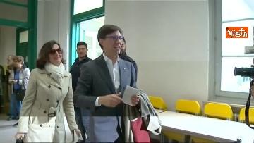 3 - Comunali Firenze, il voto del candidato sindaco Nardella