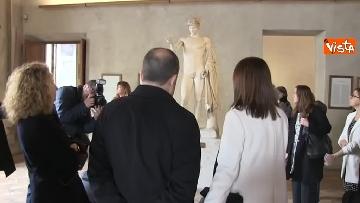 4 - Settimana dei musei, Bonisoli visita le meraviglie di Palazzo Altemps a Roma