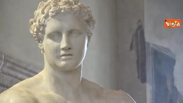 6 - Settimana dei musei, Bonisoli visita le meraviglie di Palazzo Altemps a Roma