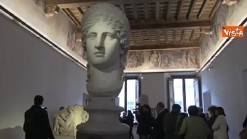 8 - Settimana dei musei, Bonisoli visita le meraviglie di Palazzo Altemps a Roma