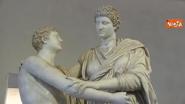 7 - Settimana dei musei, Bonisoli visita le meraviglie di Palazzo Altemps a Roma