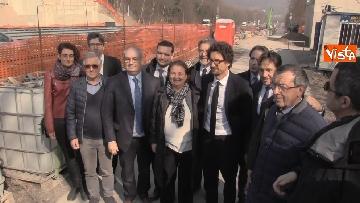 7 - Il ministro Toninelli visita il cantiere del viadotto di Annone Brianza