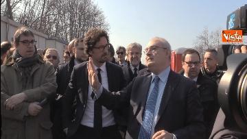 2 - Il ministro Toninelli visita il cantiere del viadotto di Annone Brianza