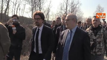 4 - Il ministro Toninelli visita il cantiere del viadotto di Annone Brianza
