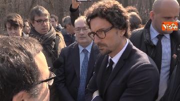5 - Il ministro Toninelli visita il cantiere del viadotto di Annone Brianza