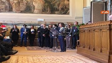 7 - Cnel celebra 60 anni, il convegno con Casellati e le parti sociali immagini
