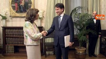 9 - Conte incontra Fico e Casellati