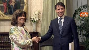11 - Conte incontra Fico e Casellati