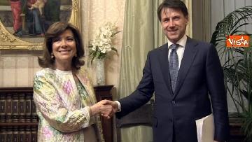 12 - Conte incontra Fico e Casellati