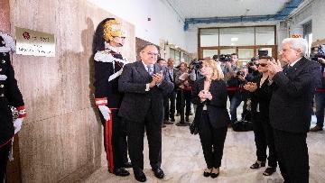 1 - Mattarella alla cerimonia di intitolazione dell'Aula XIII a Massimo D'Antona.