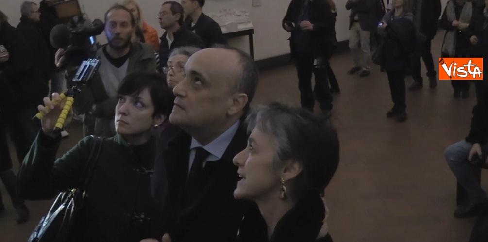 Settimana dei Musei, il ministro Bonisoli al Cenacolo Vinciano a Milano_02