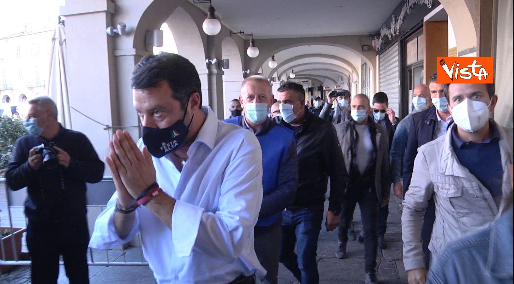 27_09_20 Salvini a Voghera Pavia per il comizio elettorale le immagini _08