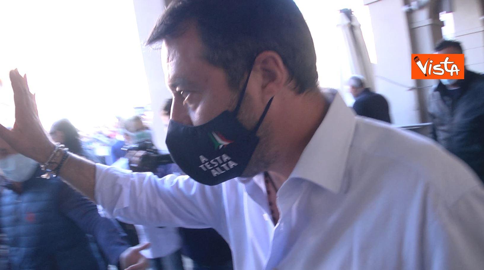 27_09_20 Salvini a Voghera Pavia per il comizio elettorale le immagini _04