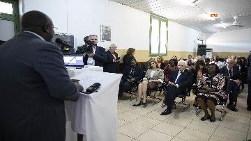3 - Mattarella in Angola visita l'Ospedale Divina Provvidenza